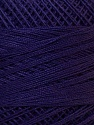 Fiber Content 100% Mercerised Cotton, Purple, Brand ICE, Yarn Thickness 0 Lace  Fingering Crochet Thread, fnt2-27803