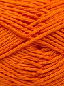 Baby cotton is a 100% premium giza cotton yarn exclusively made as a baby yarn. It is anti-bacterial and machine washable! Fiber Content 100% GizaCotton, Orange, Brand ICE, Yarn Thickness 3 Light  DK, Light, Worsted, fnt2-27896