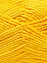Baby cotton is a 100% premium giza cotton yarn exclusively made as a baby yarn. It is anti-bacterial and machine washable! Fiber Content 100% GizaCotton, Yellow, Brand ICE, Yarn Thickness 3 Light  DK, Light, Worsted, fnt2-27929
