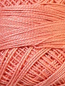 Composition 100% Coton mercerisé, Brand Oren Bayan, Light Salmon, Yarn Thickness 0 Lace  Fingering Crochet Thread, fnt2-28772