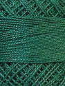 Composition 100% Coton mercerisé, Pine Green, Brand Oren Bayan, Yarn Thickness 0 Lace  Fingering Crochet Thread, fnt2-28795