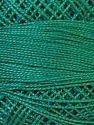 Composition 100% Coton mercerisé, Teal, Brand Oren Bayan, Yarn Thickness 0 Lace  Fingering Crochet Thread, fnt2-28796