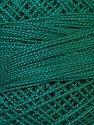 Composition 100% Coton mercerisé, Brand Oren Bayan, Dark Teal, Yarn Thickness 0 Lace  Fingering Crochet Thread, fnt2-28797