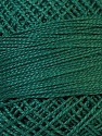 Composition 100% Coton mercerisé, Brand Oren Bayan, Dark Green, Yarn Thickness 0 Lace  Fingering Crochet Thread, fnt2-28798