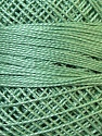 Composition 100% Coton mercerisé, Brand Oren Bayan, Hunter Green, Yarn Thickness 0 Lace  Fingering Crochet Thread, fnt2-28801