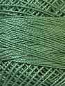 Composition 100% Coton mercerisé, Brand Oren Bayan, Hunter, Dark Green, Yarn Thickness 0 Lace  Fingering Crochet Thread, fnt2-28802