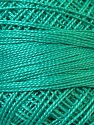 Composition 100% Coton mercerisé, Brand Oren Bayan, Emerald Green, Yarn Thickness 0 Lace  Fingering Crochet Thread, fnt2-28806