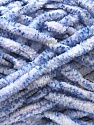 Composition 90% Micro fibre, 10% Polyester, White, Lilac, Brand ICE, Yarn Thickness 5 Bulky  Chunky, Craft, Rug, fnt2-29151