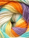 Fiber Content 100% Baby Acrylic, Yellow, White, Orange, Lilac, Light Green, Brand ICE, fnt2-29611