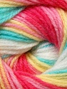 Fiber Content 100% Baby Acrylic, Yellow, White, Pink, Mint Green, Brand ICE, Fuchsia, Yarn Thickness 2 Fine  Sport, Baby, fnt2-29612