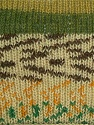 Composition 50% Laine, 50% Acrylique, Yellow, White, Brand ICE, Green Shades, Yarn Thickness 3 Light  DK, Light, Worsted, fnt2-29685