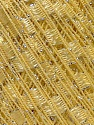 Trellis  Fiber Content 95% Polyester, 5% Lurex, Yellow, Brand ICE, Yarn Thickness 5 Bulky  Chunky, Craft, Rug, fnt2-29922