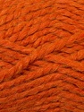 SuperBulky  Fiber Content 60% Acrylic, 30% Alpaca, 10% Wool, Orange, Brand ICE, Yarn Thickness 6 SuperBulky  Bulky, Roving, fnt2-30831