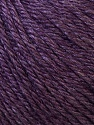 Fiber Content 50% Silk, 30% Merino Wool, 20% Cashmere, Purple, Brand ICE, Yarn Thickness 3 Light  DK, Light, Worsted, fnt2-31070