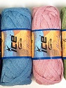 Solid Colors A fresh scarf  yarn wiith cotton content. Shiny and fresh! Fiber Content 70% Cotton, 30% Nylon, Mambo, Brand ICE, Yarn Thickness 6 SuperBulky  Bulky, Roving, fnt2-31349