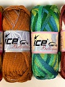 Fiber Content 100% Acrylic, Mixed Lot, Brand ICE, Yarn Thickness 6 SuperBulky  Bulky, Roving, fnt2-31356