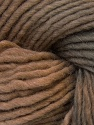 In this yarn a 100% Wool yarn is used. Dyeing process is totally hand made with natural plants and NO chemicals were used. For this reason, please be advised that some white parts may remain. Fiber Content 100% Wool, Brand ICE, Brown Shades, fnt2-32032
