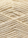 Fiber Content 70% Acrylic, 20% Wool, 10% Linen, Brand ICE, Cream, Yarn Thickness 4 Medium  Worsted, Afghan, Aran, fnt2-32438