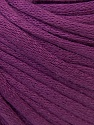 This is a tube-like yarn with soft cotton fleece filled inside. Fiber Content 70% Cotton, 30% Polyester, Purple, Brand ICE, fnt2-32502