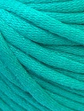This is a tube-like yarn with soft cotton fleece filled inside. Fiber Content 70% Cotton, 30% Polyester, Mint Green, Brand ICE, fnt2-32503