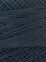Fiber Content 100% Mercerised Cotton, Navy, Brand ICE, Yarn Thickness 0 Lace  Fingering Crochet Thread, fnt2-32516