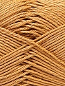 Contenido de fibra 100% Mercerizado del algodón, Light Brown, Brand ICE, Yarn Thickness 2 Fine  Sport, Baby, fnt2-32537