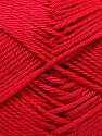 Fiber Content 100% Mercerised Cotton, Tomato Red, Brand ICE, Yarn Thickness 2 Fine  Sport, Baby, fnt2-32544