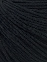 Fiber Content 60% Cotton, 40% Acrylic, Brand ICE, Black, Yarn Thickness 2 Fine  Sport, Baby, fnt2-32555