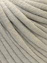 This is a tube-like yarn with soft cotton fleece filled inside. Fiber Content 70% Cotton, 30% Polyester, Light Beige, Brand ICE, Yarn Thickness 5 Bulky  Chunky, Craft, Rug, fnt2-32620
