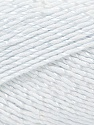 Fiber Content 50% Viscose, 50% Rayon, White, Brand ICE, Yarn Thickness 2 Fine  Sport, Baby, fnt2-32625