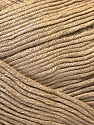 Fiber Content 100% Viscose, Light Brown, Brand ICE, fnt2-32640