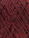 Fiber Content 50% Metallic Lurex, 30% Cotton, 20% Acrylic, Red, Brand ICE, Black, fnt2-32771