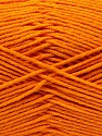 Fiber Content 50% Cotton, 50% Acrylic, Orange, Brand ICE, fnt2-32786