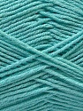 Fiber Content 50% Cotton, 50% Acrylic, Light Turquoise, Brand ICE, fnt2-32794