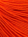 Fiber Content 60% Cotton, 40% Acrylic, Orange, Brand ICE, fnt2-32824