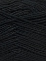 Fiber Content 100% AntibacterialDralon, Brand ICE, Black, Yarn Thickness 2 Fine  Sport, Baby, fnt2-32827