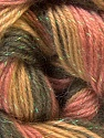 Fiber Content 8% Lurex, 52% Acrylic, 40% Angora, Pink, Olive Green, Khaki, Brand ICE, Yarn Thickness 2 Fine  Sport, Baby, fnt2-32852
