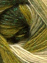 Fiber Content 8% Lurex, 52% Acrylic, 40% Angora, Brand ICE, Green Shades, Yarn Thickness 2 Fine  Sport, Baby, fnt2-32855