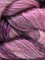 Fiber Content 8% Lurex, 52% Acrylic, 40% Angora, Pink Shades, Maroon, Brand ICE, Yarn Thickness 2 Fine  Sport, Baby, fnt2-32859