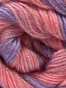Fiber Content 8% Lurex, 52% Acrylic, 40% Angora, Salmon, Pink, Lilac, Brand ICE, Yarn Thickness 2 Fine  Sport, Baby, fnt2-32860