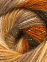 Fiber Content 8% Lurex, 52% Acrylic, 40% Angora, Brand ICE, Cream, Camel, Brown Shades, Yarn Thickness 2 Fine  Sport, Baby, fnt2-32890