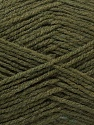 Fiber Content 100% Acrylic, Khaki, Brand ICE, Yarn Thickness 3 Light  DK, Light, Worsted, fnt2-32970
