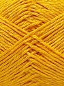Fiber Content 50% Cotton, 50% Polyester, Yellow, Brand ICE, Yarn Thickness 2 Fine  Sport, Baby, fnt2-33046