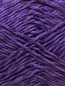 Fiber Content 50% Polyester, 50% Cotton, Purple, Brand ICE, Yarn Thickness 2 Fine  Sport, Baby, fnt2-33047