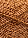 Fiber Content 94% Acrylic, 6% Lurex, Brand Ice Yarns, Gold, Brown, Yarn Thickness 3 Light  DK, Light, Worsted, fnt2-33095