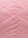 Fiber Content 94% Acrylic, 6% Lurex, Light Pink, Irridescent, Brand Ice Yarns, Yarn Thickness 3 Light  DK, Light, Worsted, fnt2-33129