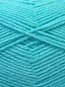 Fiber Content 100% Baby Acrylic, Light Turquoise, Brand ICE, Yarn Thickness 2 Fine  Sport, Baby, fnt2-33131