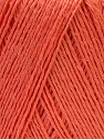 Fiber Content 50% Linen, 50% Viscose, Salmon, Brand ICE, Yarn Thickness 2 Fine  Sport, Baby, fnt2-33231