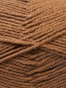 Fiber Content 100% Acrylic, Brand ICE, Brown, Yarn Thickness 3 Light  DK, Light, Worsted, fnt2-33248