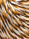 Fiber Content 100% Acrylic, Yellow, White, Brand ICE, Brown, Yarn Thickness 3 Light  DK, Light, Worsted, fnt2-33301
